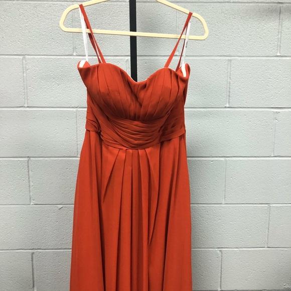 DaVinci Bridesmaid Dresses in Burnt Orange